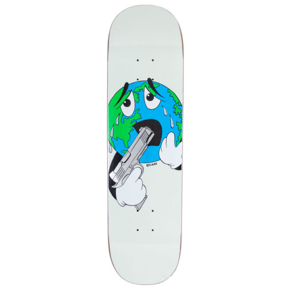 "Quasi Skateboards World Deck 8.25"" White"