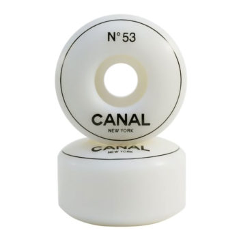 Canal Designer Urethane Wheel 53mm White