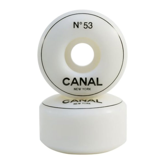 Canal Designer Urethane Wheel 53mm White