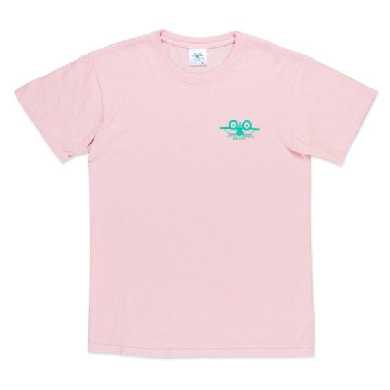 Santa Monica Airlines Natas T-Shirt Pink