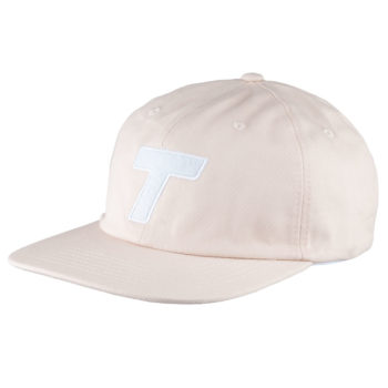 Theobalds Cap Co Classic T Six Panel Cream White front