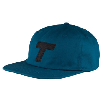 Theobalds Cap Co Classic T Six Panel Jade Black