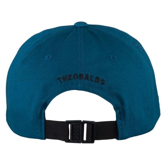 Theobalds Cap Co Classic T Six Panel Jade Black back