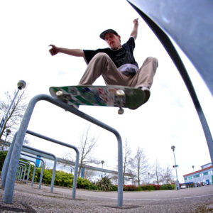 Tom Johnson - Skate Pharm Team Rider