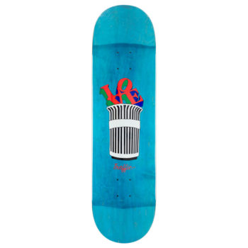 "Traffic Skateboards Parks And Reck Deck 8.4"" Blue"