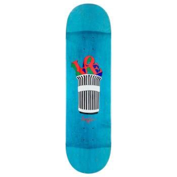 "Traffic Skateboards Parks And Reck Deck 8.4"" Blue"
