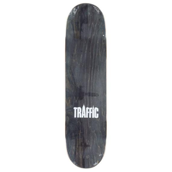 Traffic Skateboards Parks And Reck Deck 8.4″ Blue