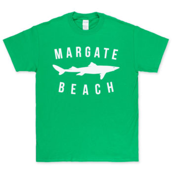 Unofficial Margate Dogfish T-Shirt Kelly Green