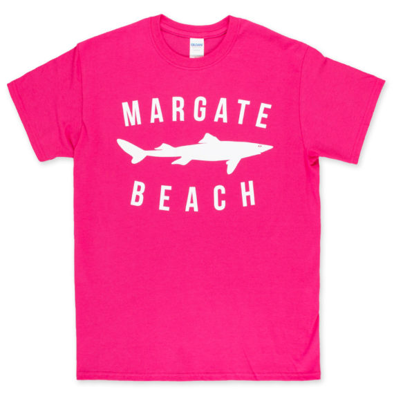 Unofficial Margate Dogfish T-Shirt Hot Pink