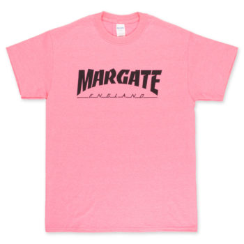 Unofficial Margate Masher T-Shirt Day-Glo Pink
